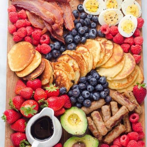 keto Breakfast Charcuterie Board