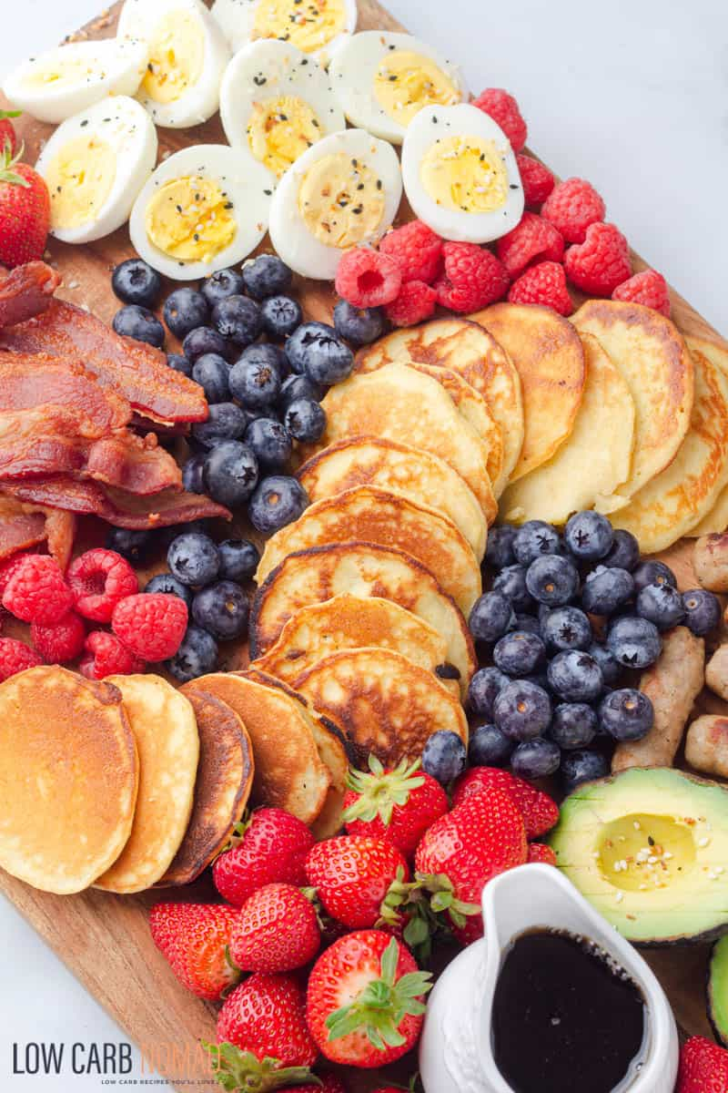 low carb Breakfast Charcuterie Board