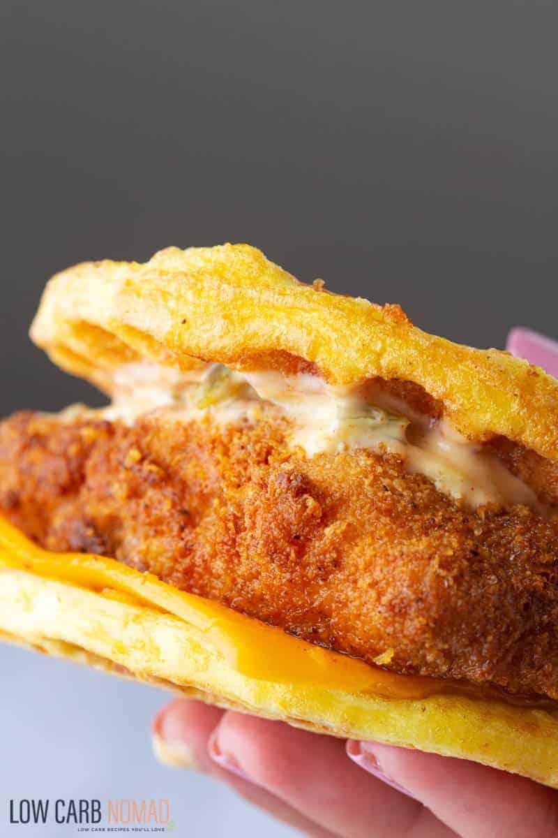Keto McFish Sandwich