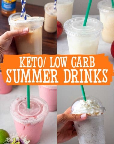 LOW CARB SUMMER DRINK RECIPES