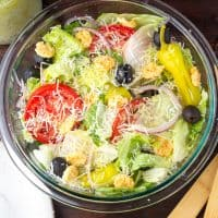 Low Carb Olive Garden Salad