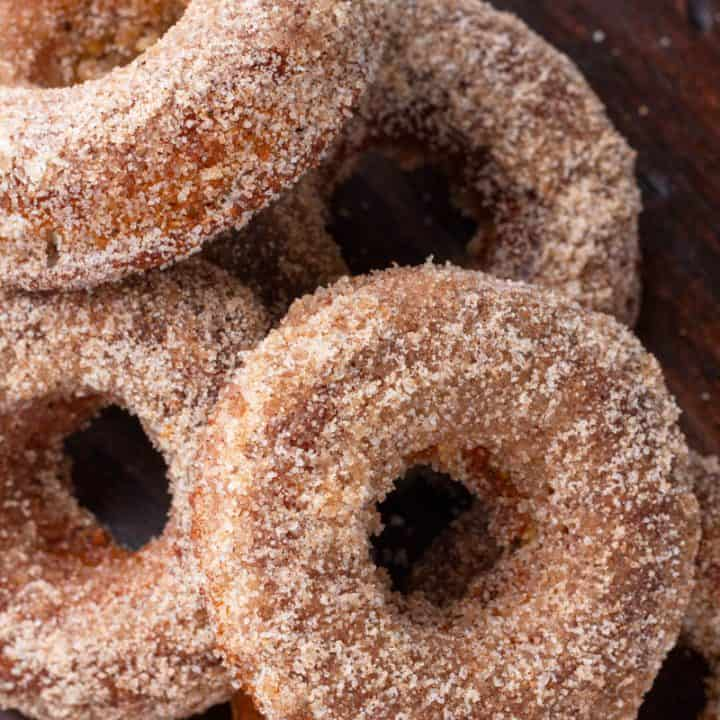Low carb Keto Apple Donuts