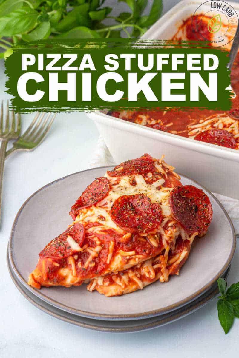 Pizza stuffed chicken RECIPE