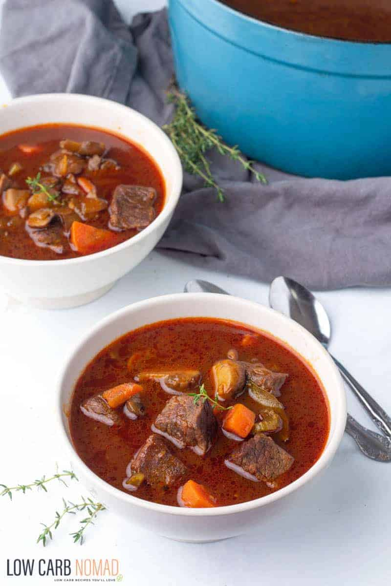 Keto Beef Stew Low Carb Nomad