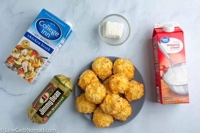 keto biscuits and sausage gravy ingredients
