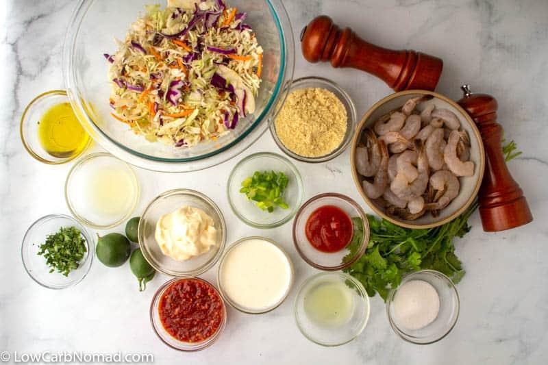Keto Bang Bang Shrimp Ingredients