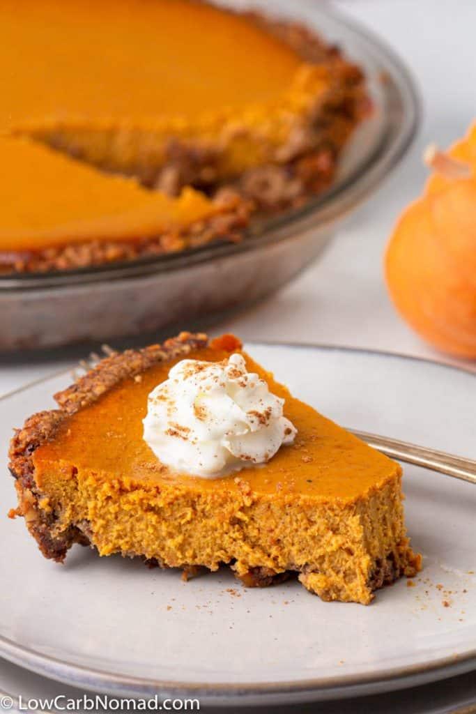 Keto Pumpkin Pie Recipe
