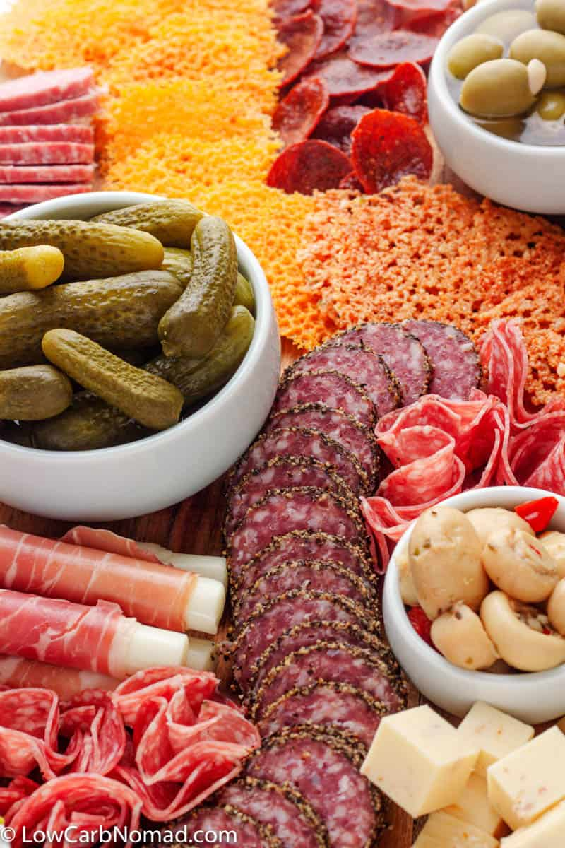 low carb Charcuterie Board