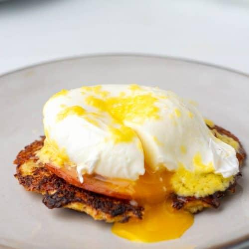 low carb Eggs Benedict