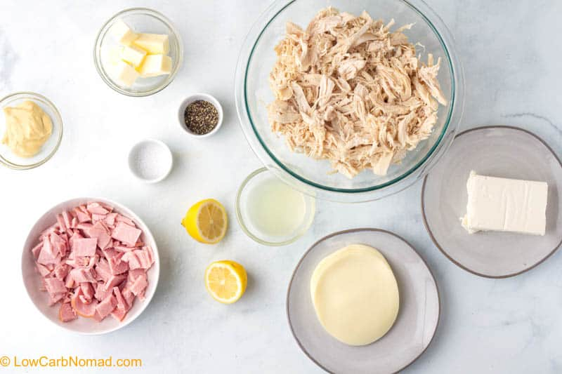 Chicken Cordon Bleu Casserole ingredients