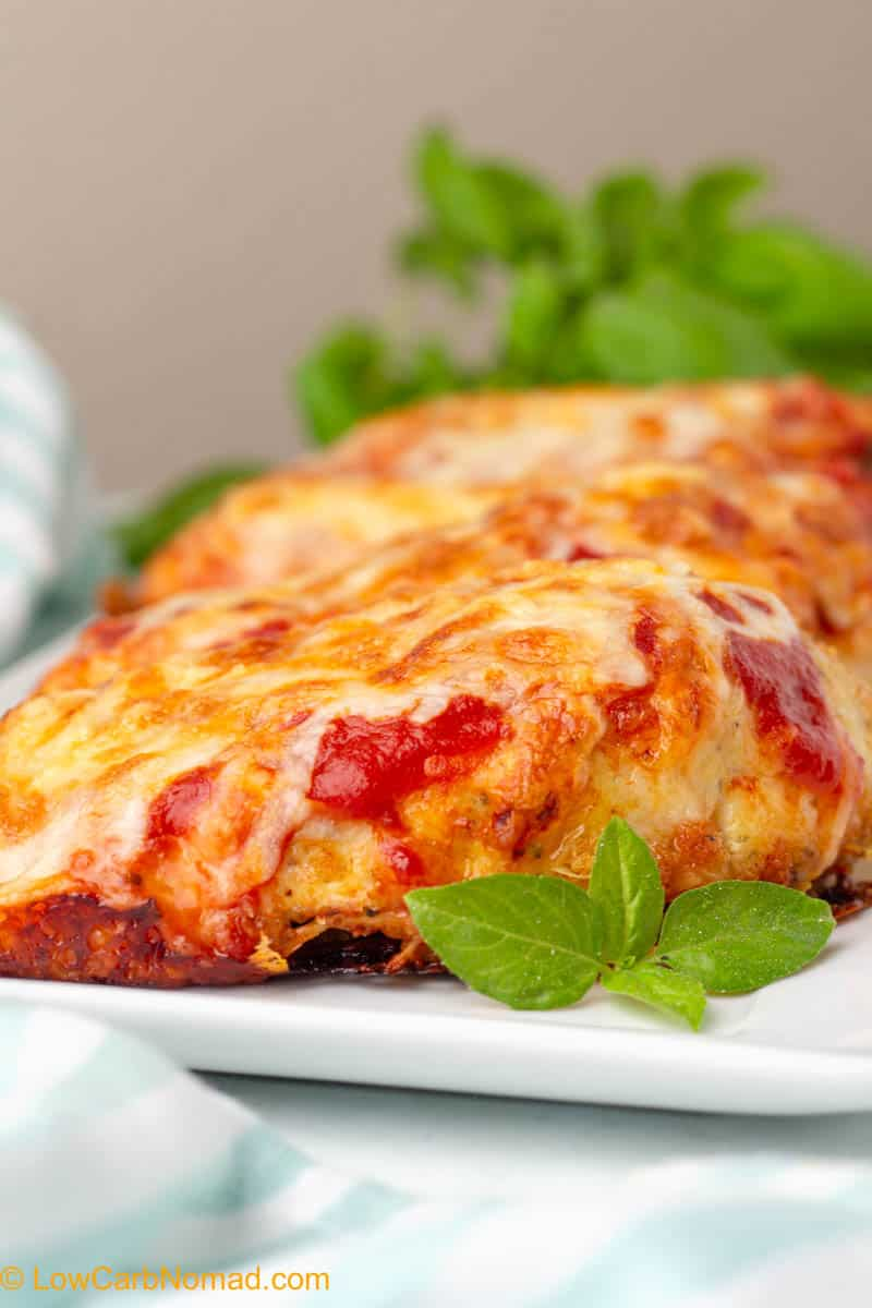 Low Carb Keto Chicken Parmesan