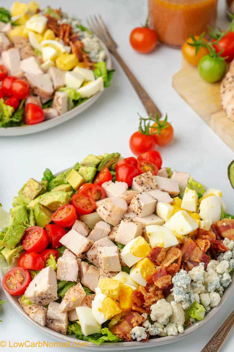 keto Chicken Cobb Salad