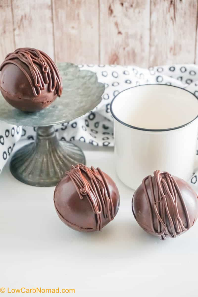 How to Make Keto Hot Chocolate Bombs