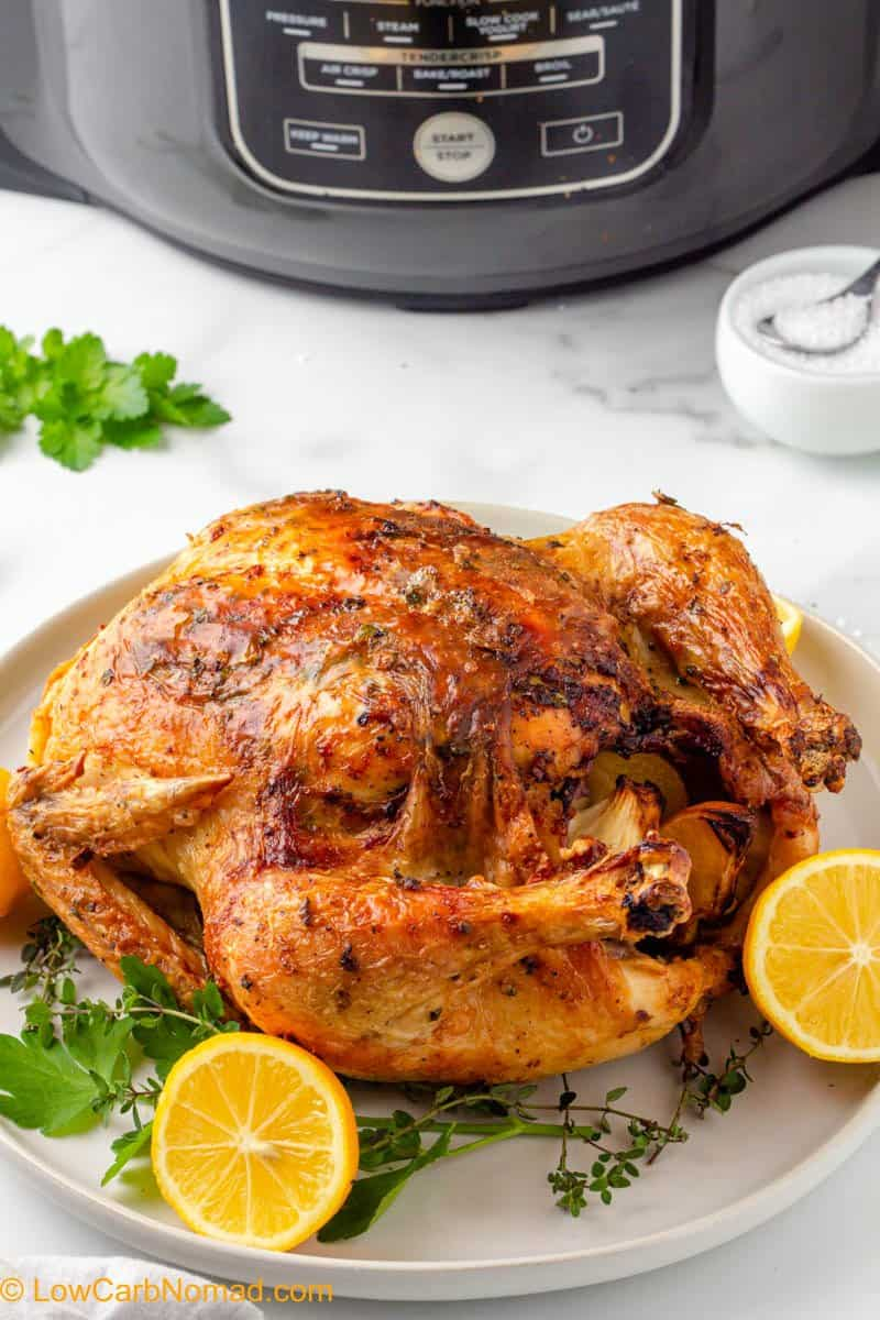 Air Fried Whole Chicken