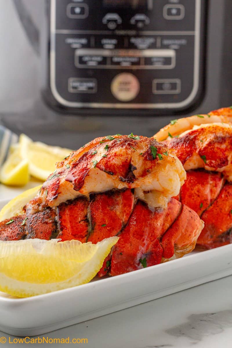 Air Fried Lobster Tails