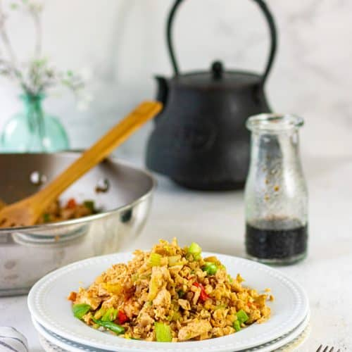 Chicken Fried Cauliflower Rice