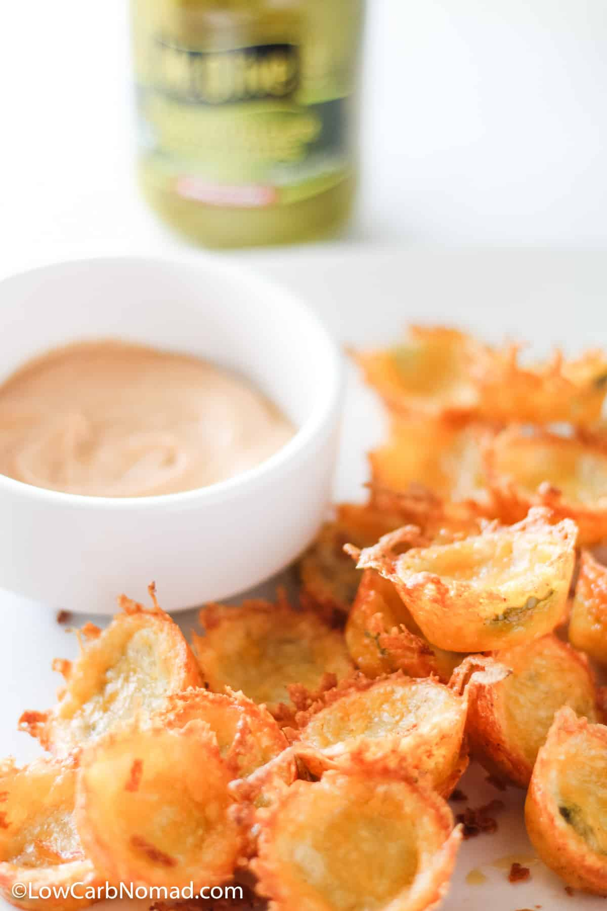 low carb pickle chips