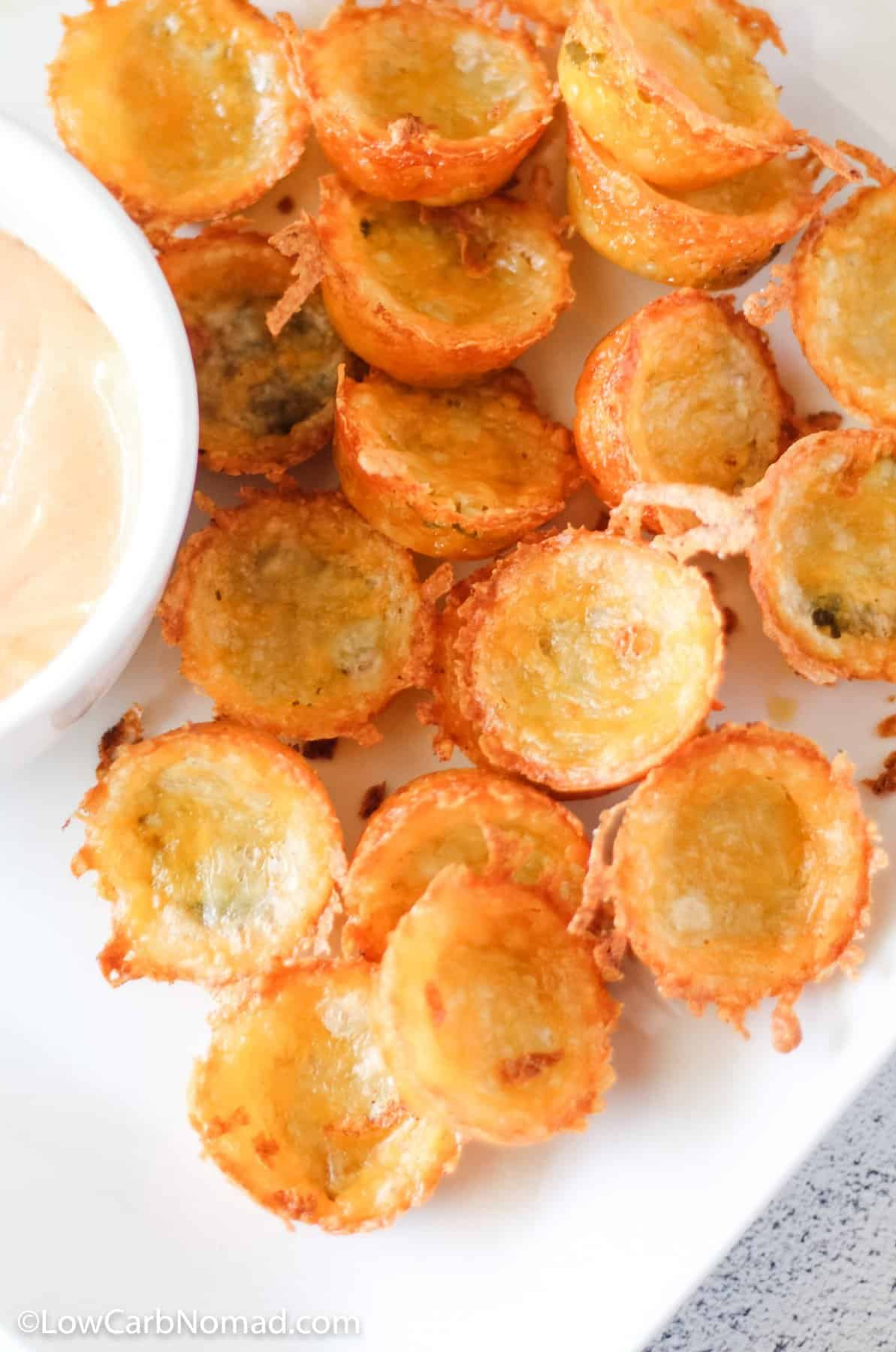 Keto Pickle Chips