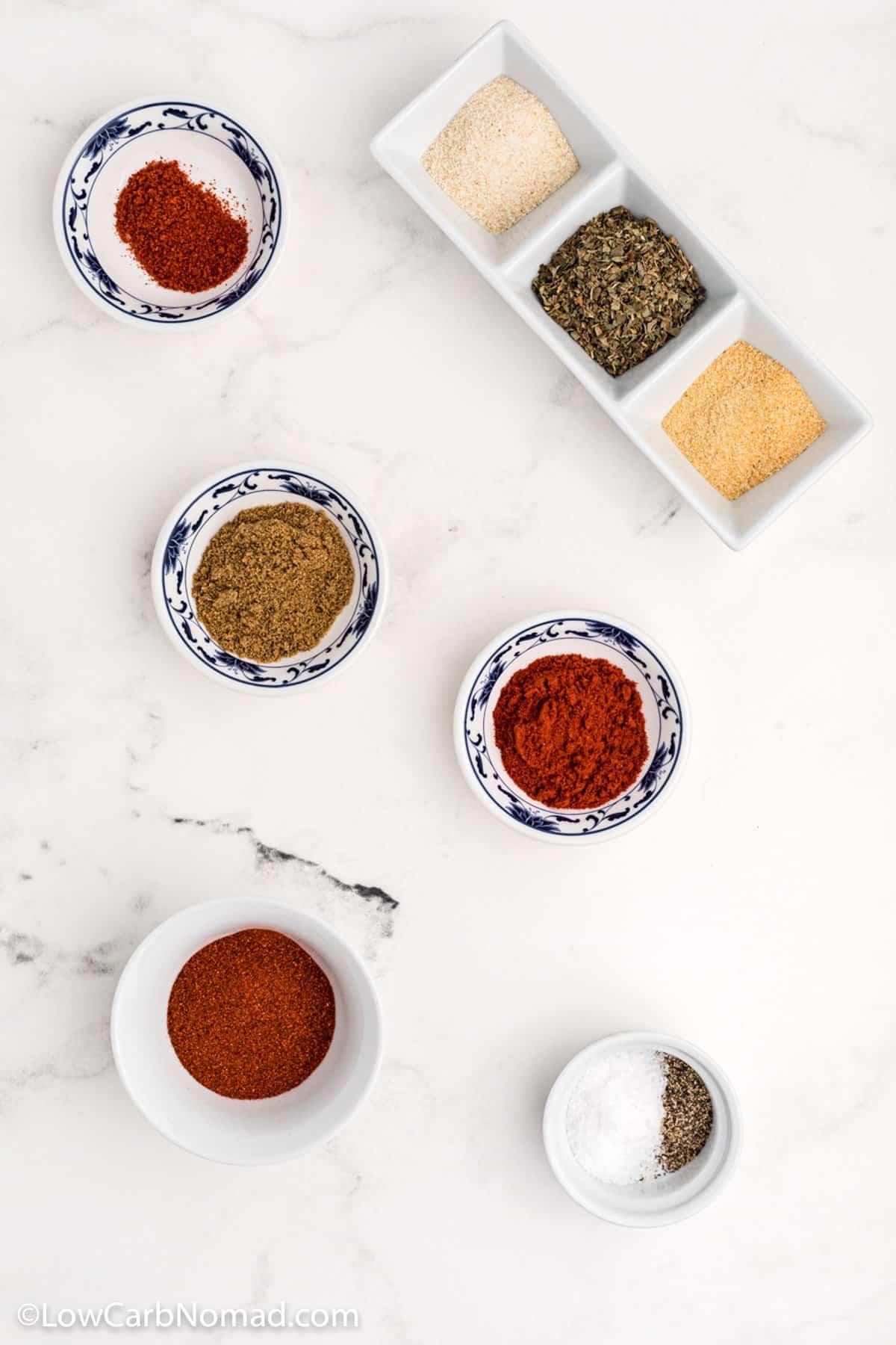 low carb taco seasoning ingredients
